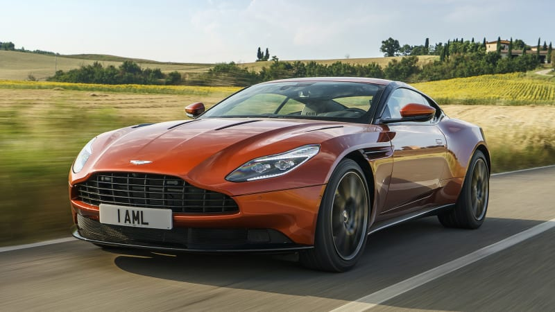 2017 aston martin db11 first drive autoblog. Black Bedroom Furniture Sets. Home Design Ideas