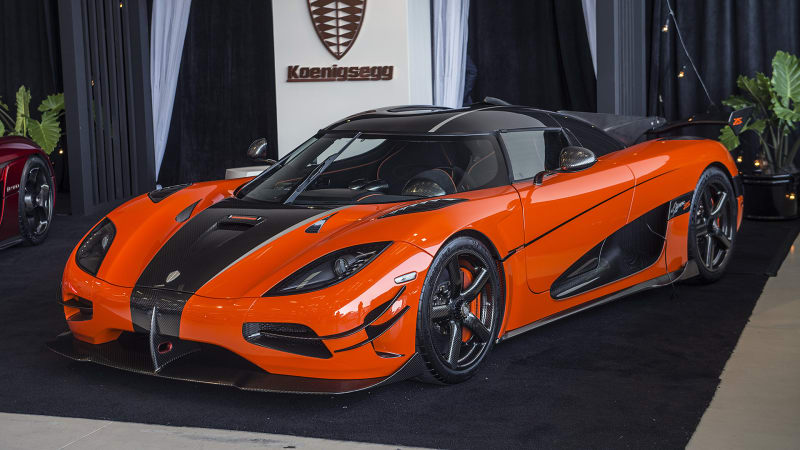 The Koenigsegg Agera XS is here and it's very orange - Autoblog