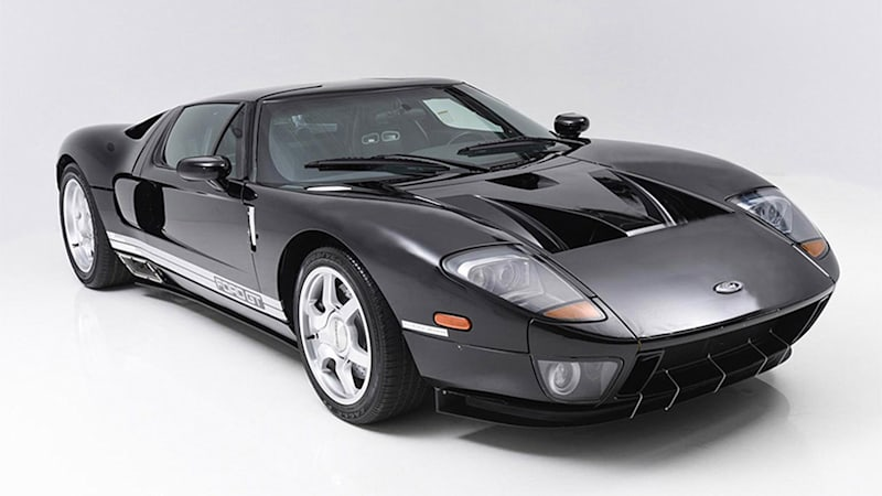 Ford GT prototype going up for auction, but there's a catch