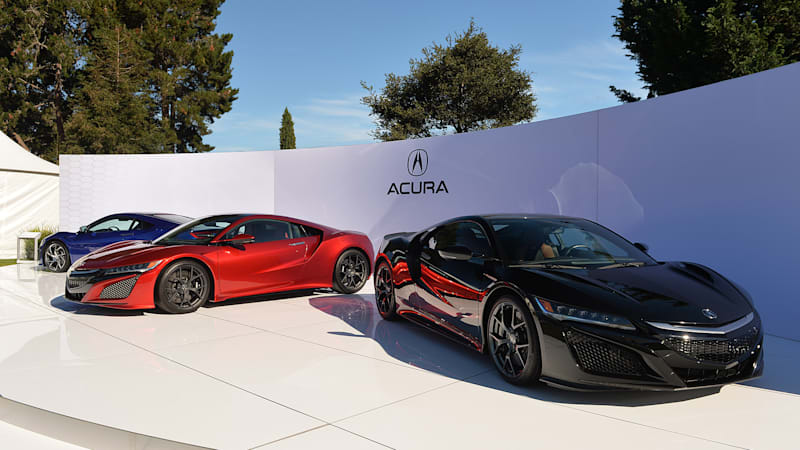 Acura NSX production delayed