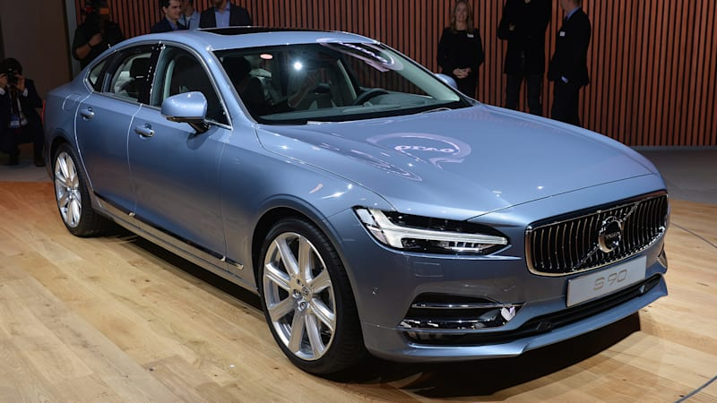volvo s90 is the brave new face of gothenburg s sedan future