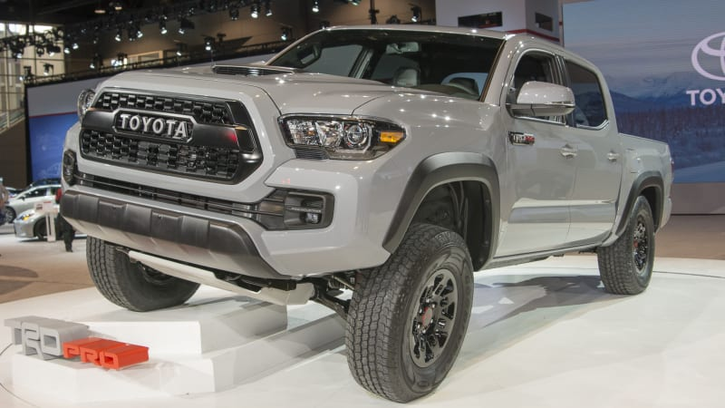 Where the 2017 Toyota Tacoma TRD Pro is going, it doesn't need roads