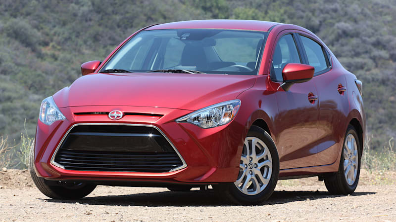 scion ia and im rolled into yaris and corolla lineups for 2017 autoblog. Black Bedroom Furniture Sets. Home Design Ideas