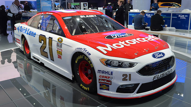 Ford Fusion puts on its game face for NASCAR - Autoblog