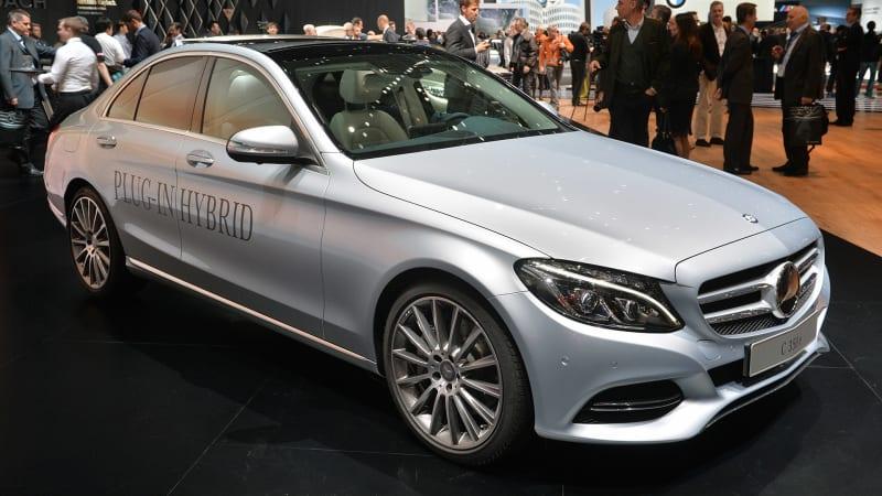 2016 Mercedes-Benz C350e Plug-In Hybrid casts a green light in Geneva