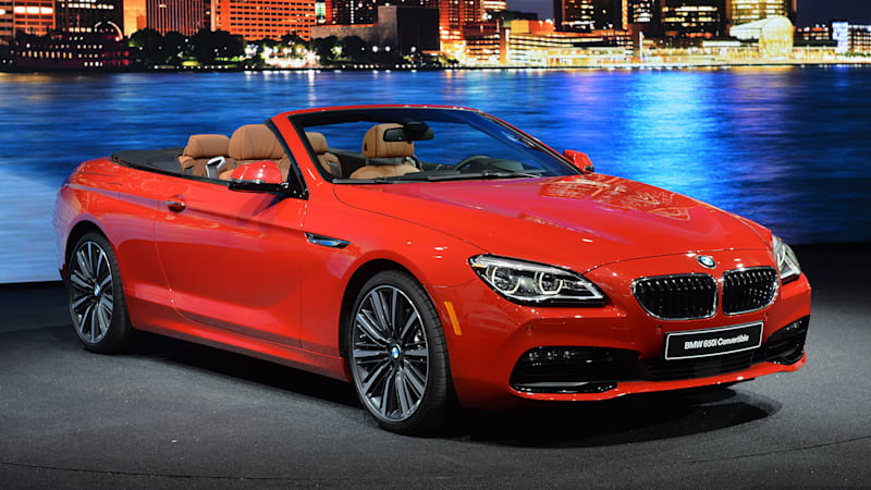Refreshed BMW 6 Series sports an understated redesign in Detroit [w ...