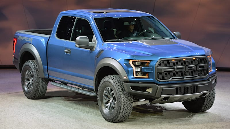 Ford f 150 Raptor Gets