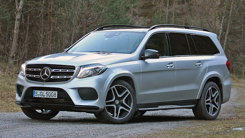 2017 mercedes benz gls class first drive autoblog. Black Bedroom Furniture Sets. Home Design Ideas