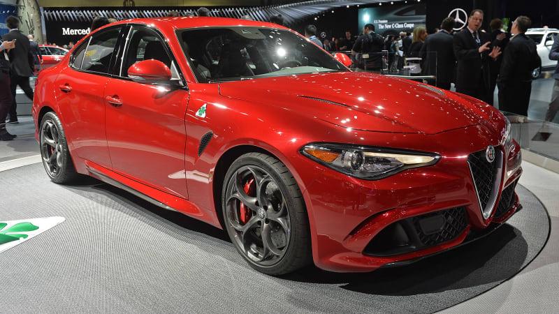 Alfa Romeo Giulia is the sexiest starlet in LA