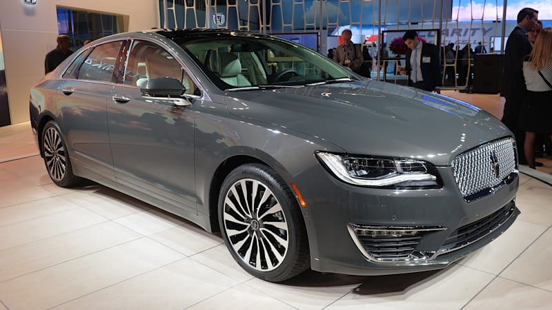 2017 lincoln mkz shows the new face of progress autoblog
