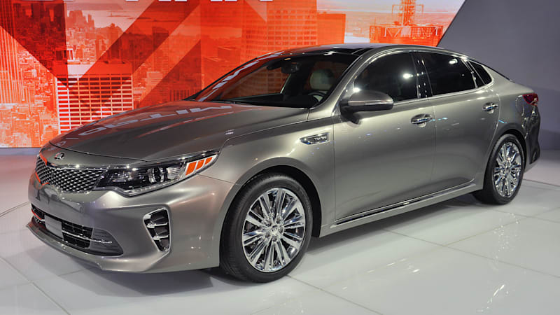 2016 kia optima builds on third gen car 39 s sense of style efficiency autoblog. Black Bedroom Furniture Sets. Home Design Ideas