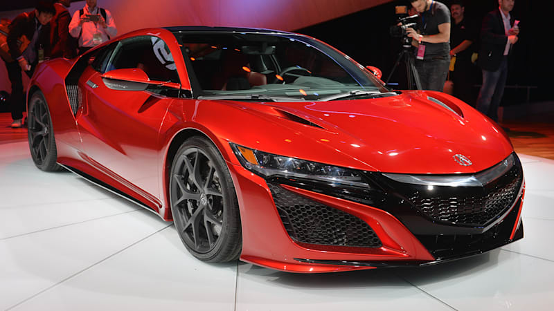 2016 acura nsx grows into its updated styling for the 2015