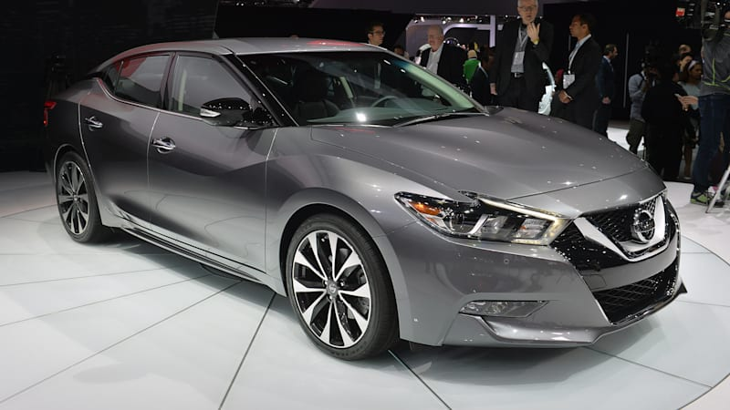 2016 Nissan Maxima offers 300 hp and 30 mpg for $32,410* [w/video]