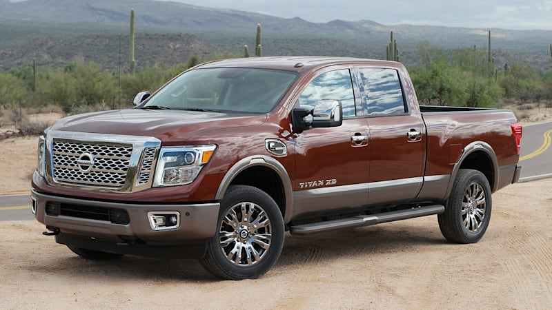2016 Nissan Titan XD First Drive [w/video]