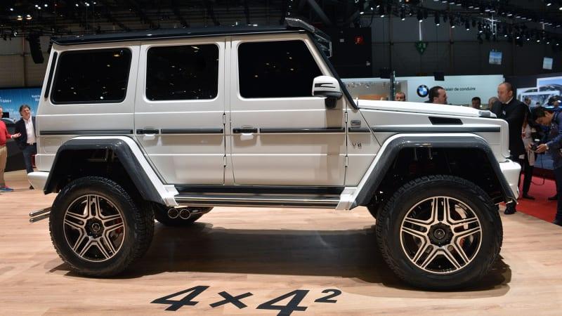 Mercedes-Benz G500 4x4 is a 6x6-2 [w/video] - Autoblog