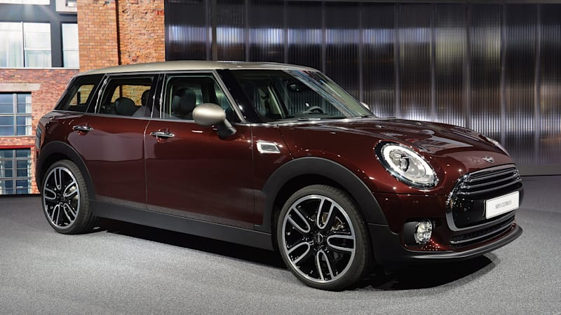 2016 mini clubman stretches out opens wide for frankfurt crowd w video autoblog. Black Bedroom Furniture Sets. Home Design Ideas