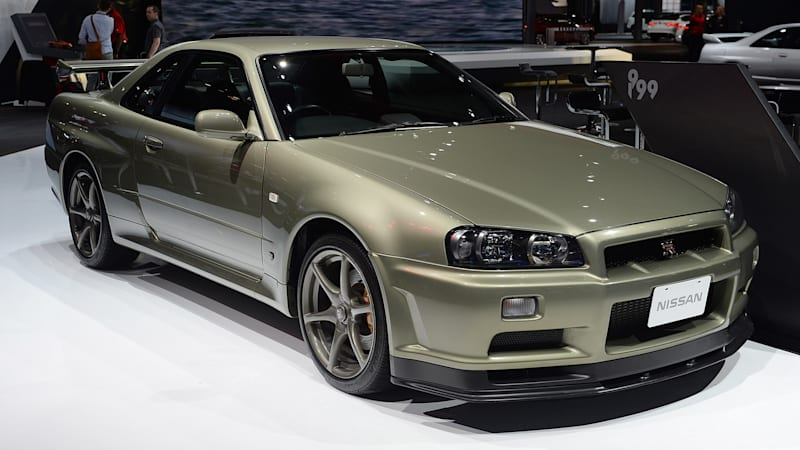 Nissan's Skyline GT-R display is every Gran Turismo player's fantasy