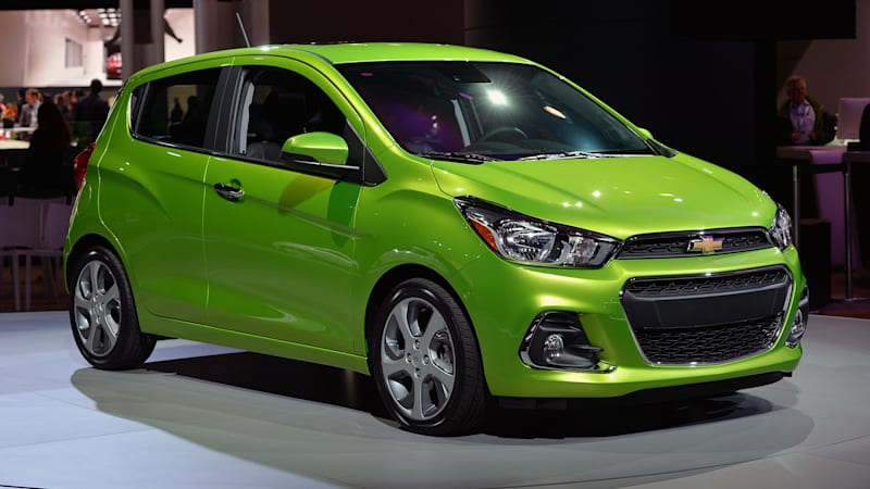 2018 Chevrolet Sonic Price >> 2016 Chevrolet Spark gleams in green in New York - Chevy ...