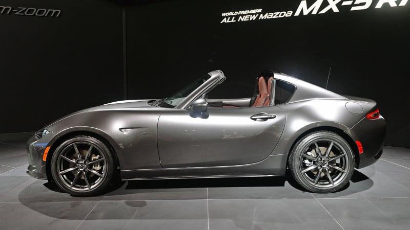 Simple This Is The 2017 Mazda MX5 RF Targaroof Fastback  Autoblog