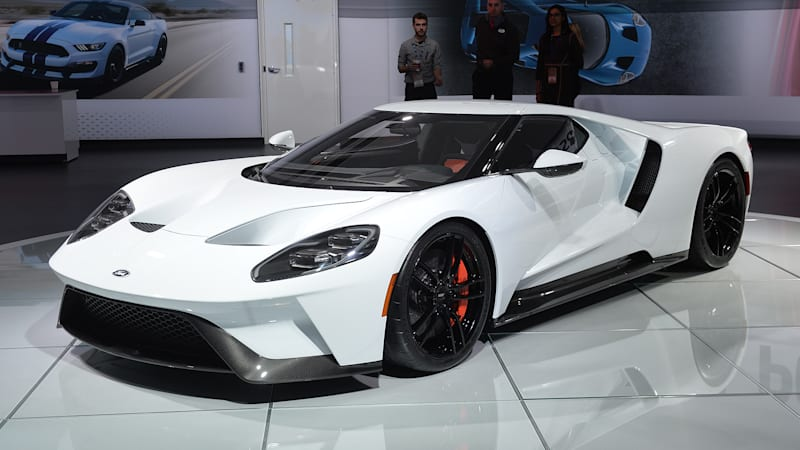 Here's another gallery of the Ford GT
