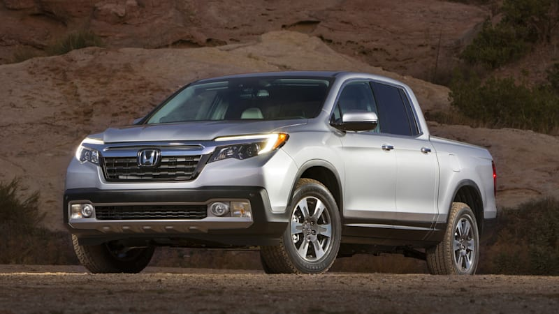 The Honda Ridgeline returns for 2017