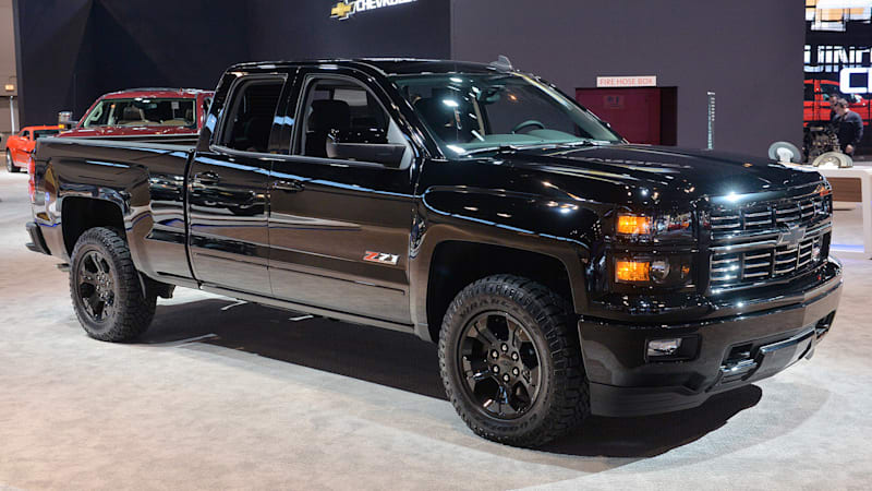 Chevy Silverado Midnight Edition, Custom ready to stand out in pickup ...