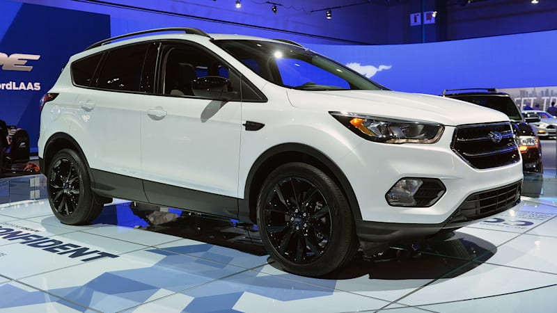 2017 Ford Escape gets all edgy for LA - Autoblog