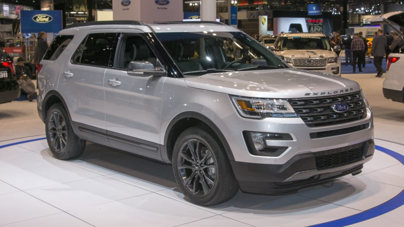 Ford Explorer shows it can be sporty and wheelchair accessible