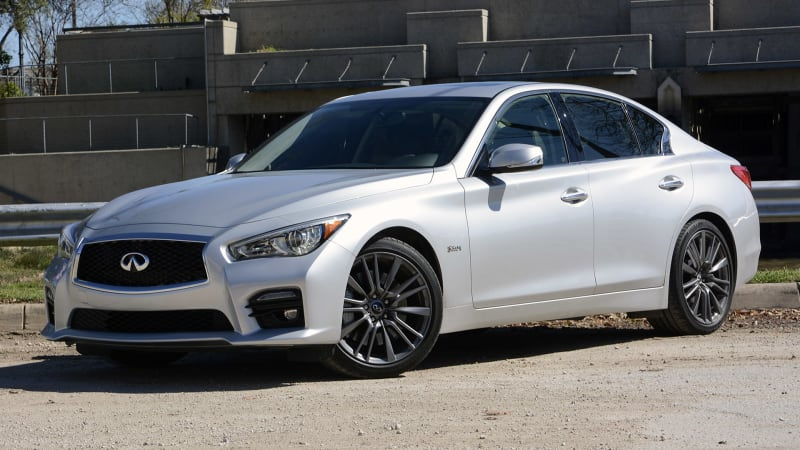 infiniti q50 red sport 400 priced at 48 855 awd at 50 855 autoblog podcast. Black Bedroom Furniture Sets. Home Design Ideas