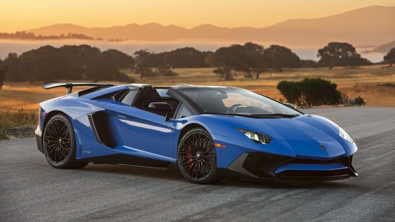 Autoblog S Exclusive Lamborghini Aventador Sv Roadster