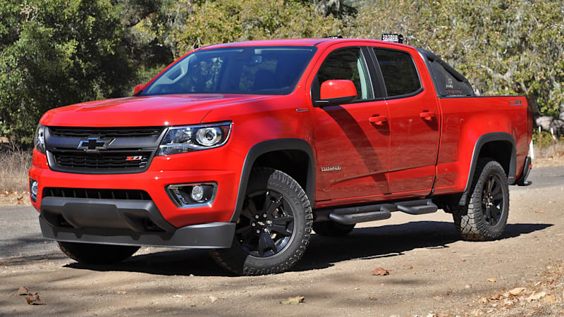 2016 Chevy Colorado grabs Motor Trend Truck of the Year award - Autoblog