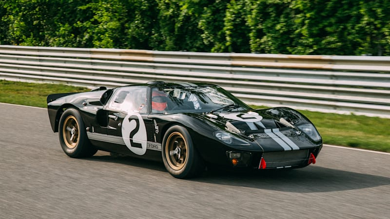 Winning 1966 Ford GT40 returns to Le Mans after restoration