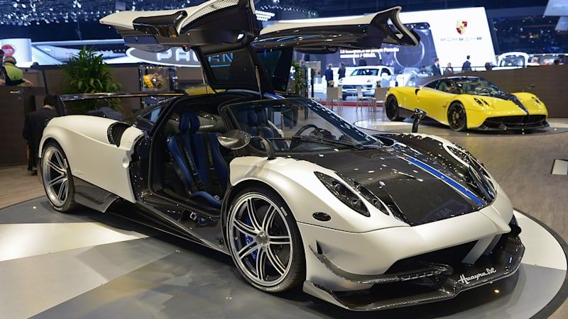 Five Years After Revealing The Huayra, Pagani Returns To The Palexpo In  Geneva With The New, More Hardcore Huayra BC   Ready To Take On The New  Bugatti ...