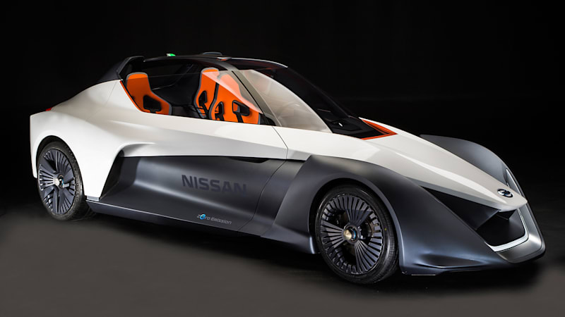 Nissan shows 'working' BladeGlider Concept in Rio