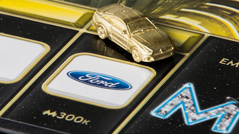 Ford Mustang joins the grid of Monopoly Empire tokens
