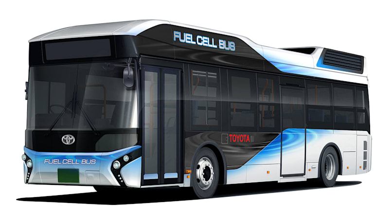 Toyota next fuel cell vehicle is a big ole bus