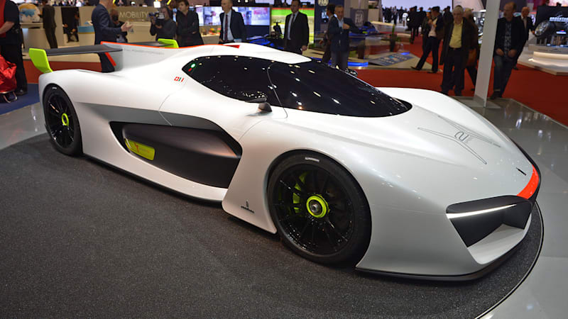 Pininfarina will sell you a bonkers H2 Speed Concept for $2.5m