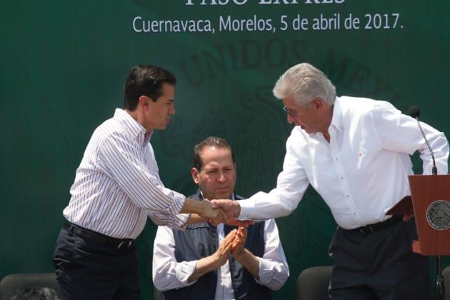 Así anunció Peña Nieto la inauguración del Paso Exprés