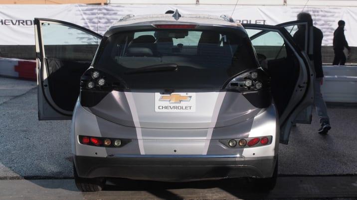 chevy bolt prototype rear