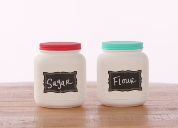 DIY your own Anthropologie-inspired kitchen jars