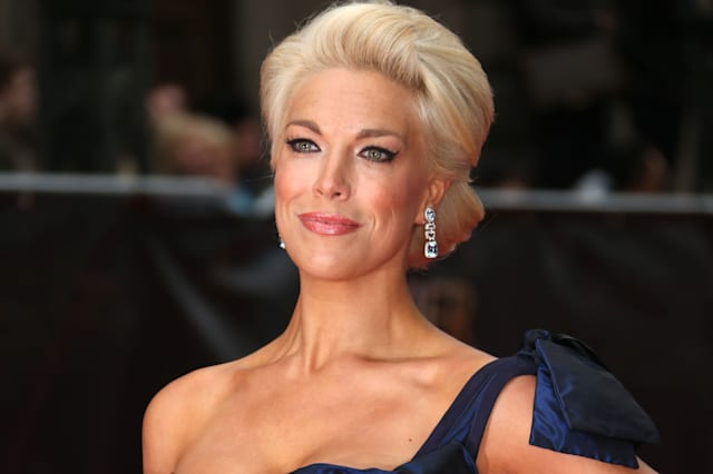 Hannah Waddingham at The Olivier Awards 2013