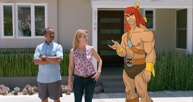 Cheryl Hines & Tim Meadows Are Ready to Slay in 'Son of Zorn'