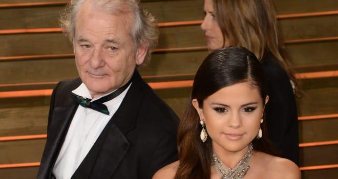 Bill Murray Photobomb Selena Gomez
