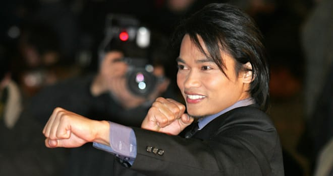 Tony Jaa at the Palais des Festival in Cannes on January 21, 2006