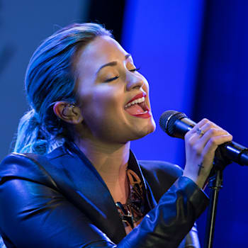 Demi Lovato sings Warrior live first time Inaugural Dignity Gala
