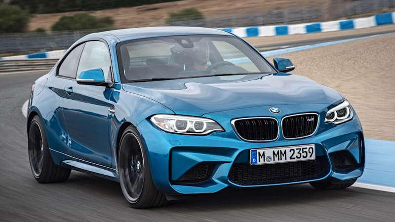 The 2016 BMW M2 is a steroid-addled M235i