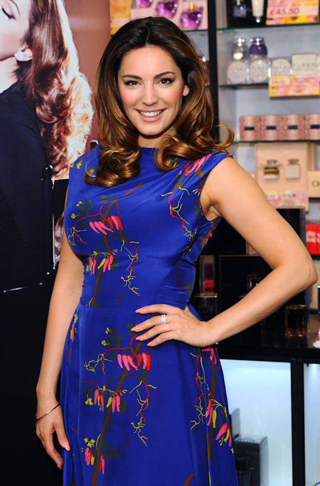 Kelly Brook Perfume Launch