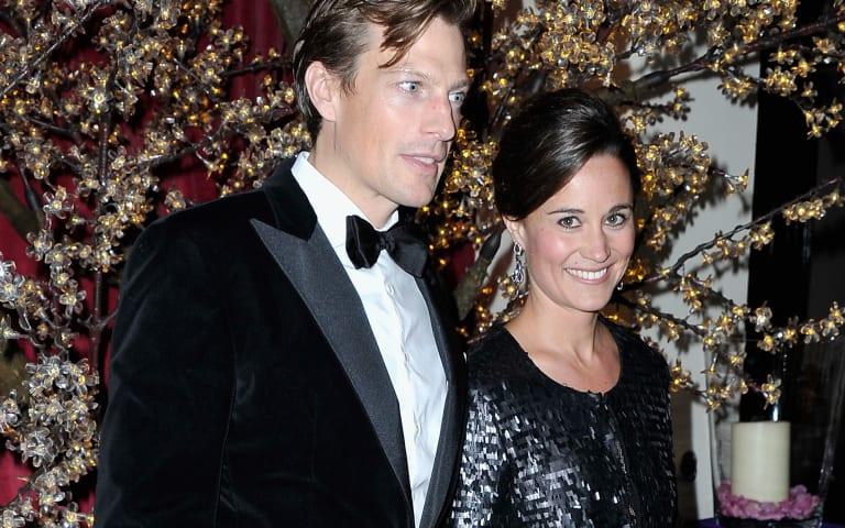 Pippa Middleton stuns in daring gown at London gala