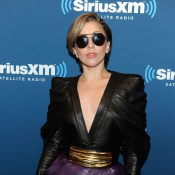 Lady Gaga Visits SiriusXM