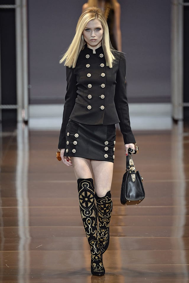 Versace - Runway RTW - Fall 2014 - Milan Fashion Week